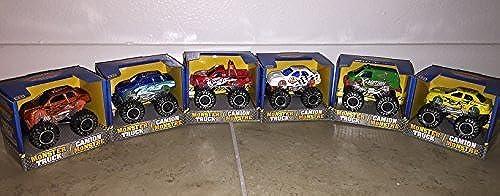 Set of 6 Monster Trucks  by Turbo Wheels