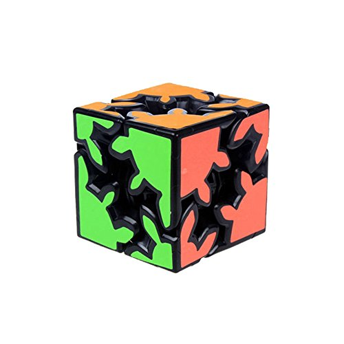 Wings of wind - Gear Cube 2x2x2 New Type Magic Cube, Speed Gear Cube Educación Puzzle Cube (Negro)