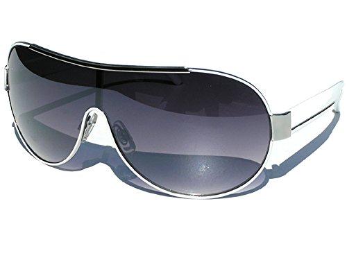 Tedd Haze Sonnenbrille White Style