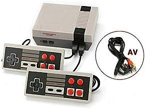 Console de jeu classique Jeux rétro classique Mini console de jeux Construit en 620 TV Jeu vidéo avec double contrôleur