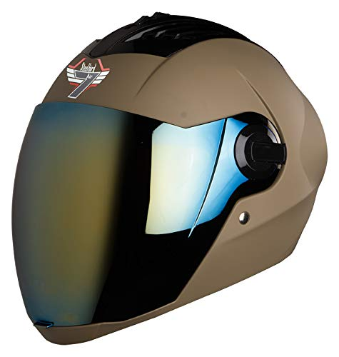 Steelbird SBA2 7WINGS Full Face Helmet In Matt Finish with
