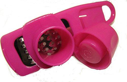 OnlyTheBest Handlicher Knoblauch-Hobel! vergessen sie ihre Knoblauchpresse HOBELN ist angesagt! <3 (rosa)