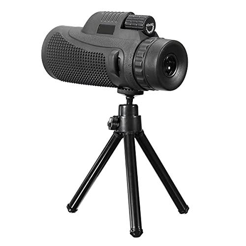 Lente telefoto con Zoom 40x60 HD Telescopio monocular Lente de cámara de teléfono Universal para iPhone para teléfono Inteligente Android móvil