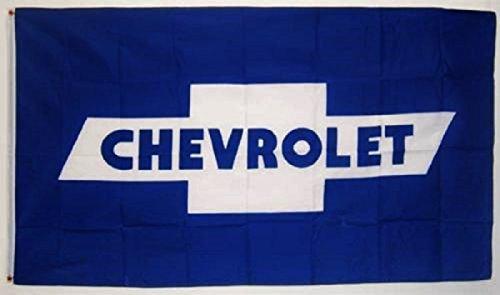Chevrolet Blue Bowtie Car Flag 3' x 5' Indoor Outdoor Banner