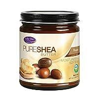 Life-Flo Organic Pure Shea Butter, 9 Ounce