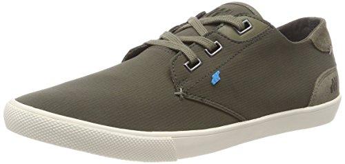 Boxfresh Herren Stern Sneaker, Grün (Khaki Grn), 44 EU