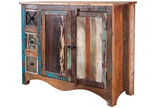 MASSIVMOEBEL24.DE Massivholz massiv Möbel Holz Kommode lackiert Altholz massiv Möbel Nature of Spirit #17