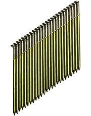 DeWalt DNW2850E 34 graden nagel (voor accu-nagels, D-kop-nagels, draadgebonden 2,8 x 50 mm glad, 2200 stuks