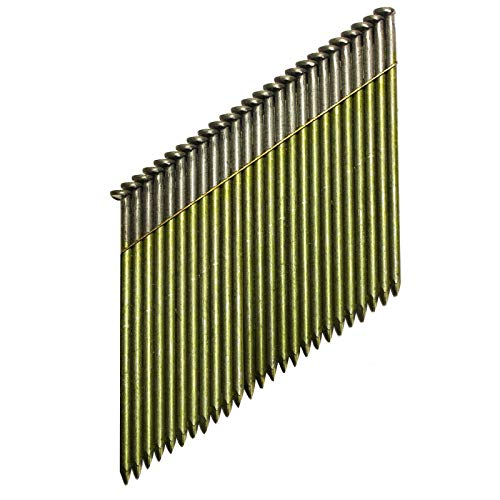 DeWalt 34 Grad Nagel (für Akku-Nagler, D-Kopf-Nägel, drahtgebunden 2,8 x 50 mm glatt, 2200 Stück) DNW2850E