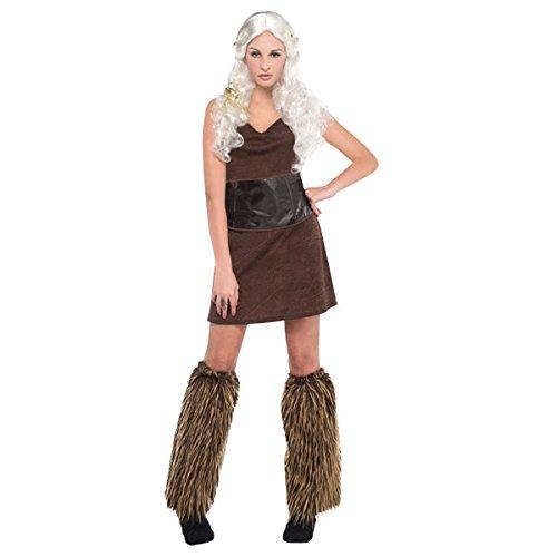 amscan Costume de Guerrier Adulte 842922–55