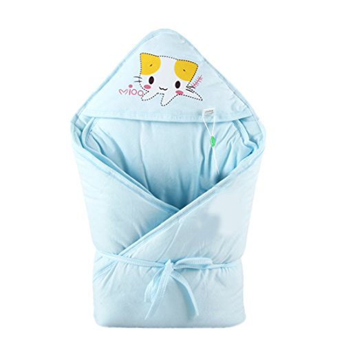 Fantastic Prices! Baby Receiving Blanket Organic Un-Dyed Cotton Unisex Wrap for Boys and Girls