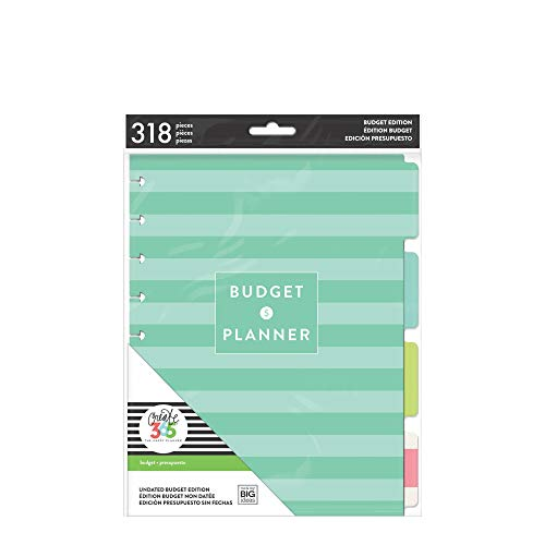 me & my BIG ideas Budget Extension Pack - The Happy Planner Scrapbooking Supplies - 6 Month Expense Tracker - Bill Pay Checklists & Budget Sheets - Stickers & Dividers for Budgeting - Classic Size
