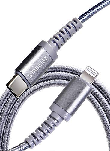 STA BIL IST Lightning ライトニング充電ケーブル iPhone USBC USB-Type-C MFi認証 Apple 高耐久 1m USB-C 急速充電 iPad Macbook power delivery 11 Pro