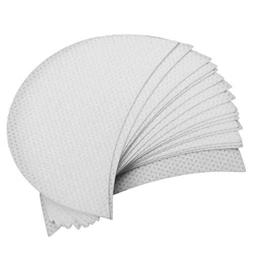 100 Stück Lidschattenschild Lidschatten Gel Pad Patches Lidschatten Schablonen, für Wimper-Verlängerungen/Lippenmake-up