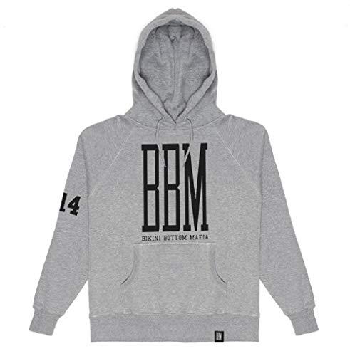SPONGEBOZZ - BBM Logo Hoodie Kapuzenpullover Grey Grau (L)