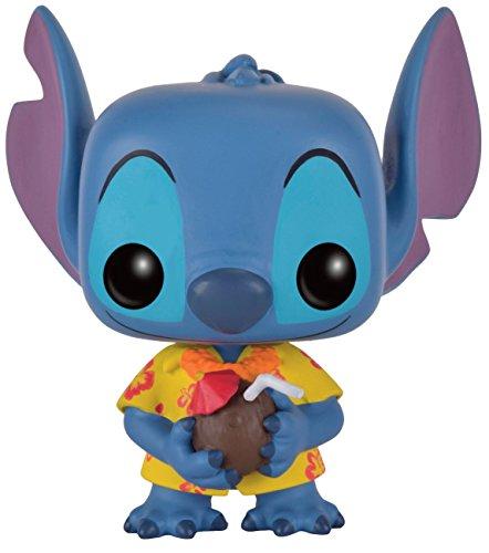 Funko - Figurine Disney Lilo et Stitch - Aloha Stitch Exclu Pop 10cm - 0849803097097
