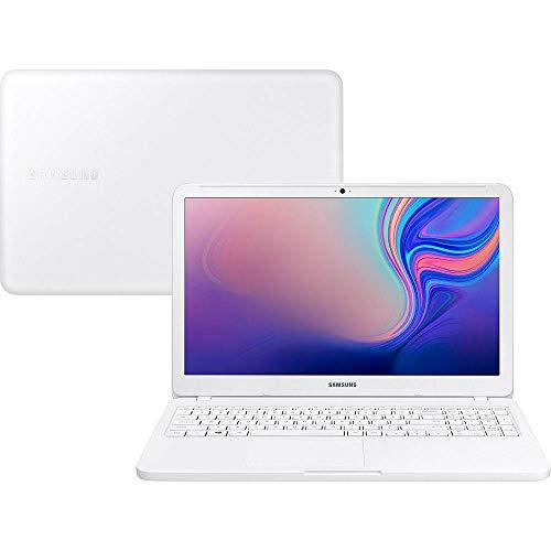 Notebook Samsung Essentials E20 Intel Celeron, 4GB RAM, HD 500GB , LED HD 15,6'' Windows 10 , Branco - NP350XBE-KDBBR