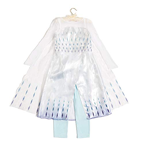 Disney Store Elsa The Snow Queen 2pce Fancy Dress Costume for Kids - Frozen...