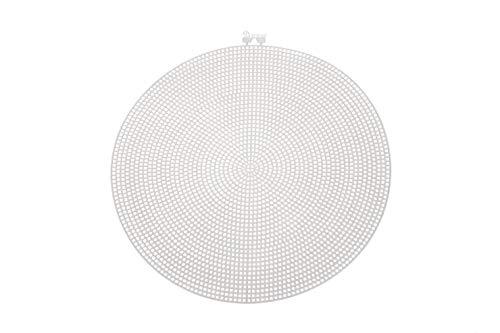 Darice Canvas en Forma de Círculo, 24.13x24.13x0.03 cm