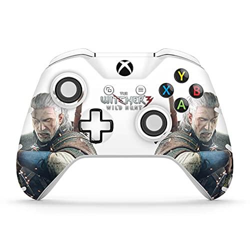 Skin Adesivo para Xbox One Slim X Controle - The Witcher 3#B