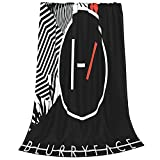 Boyeashion Party 21 Blurryface Pilots Tapestries Bed Cover Tapestried Skin-Friendly Tapestrying Personality Game Tapestries 60'X50'