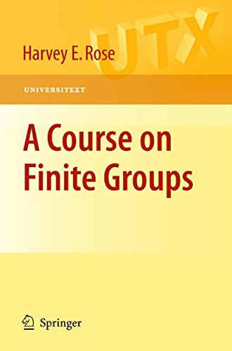 A Course on Finite Groups (Universitext) (English Edition)