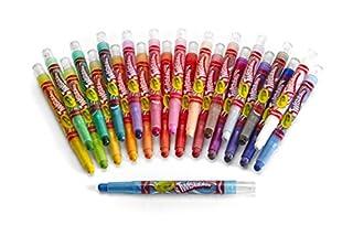 Crayola Twistables Crayons Coloring Set, Kids Indoor Activities at Home, 24 Count للبيع