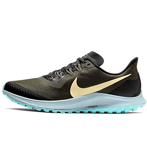 Nike Air Zoom Pegasus 36 Trail Men's Running Shoe (13 M US, Cargo Khaki/Team Gold/Black)