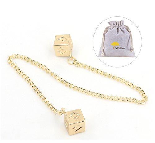 Han Solo - Juego de joyas para cosplay o disfraz, amuleto de la suerte, colgante y cadena con cadena, rplica de regalo (colgante)
