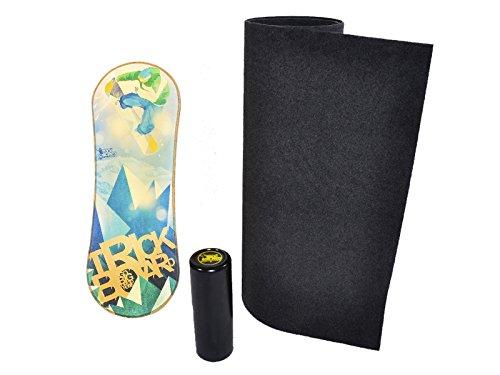 Trickboard Balance Board Go Big + Teppich + Roller