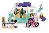 Mymy City- Family Van, Caravana con accesorios, para niños y niñas a partir de 3 años, (Famosa 700015598)