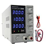 DC Power Supply Variable, (0-30V 0-10A) Adjustable Switching Regulated Power Supply,USB...