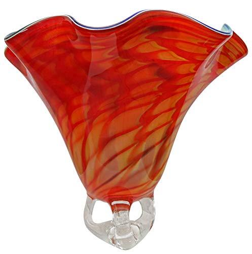Vase Glasschale Schale Glas im Murano Antik Stil - 40cm