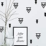 Geometría Etiqueta De La Pared Del Bebé Nursery Tatuajes De Pared Extraíble Easy Wall Vinyl Decals Envío Gratis 16Pcs / Set