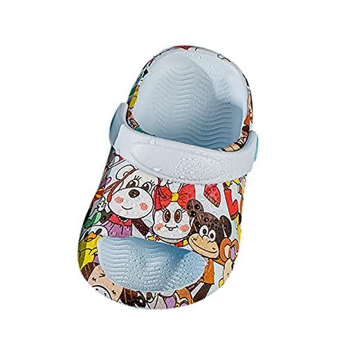 YWLINK Zapatillas De Dibujos Animados para NiOs,Sandalias NiA NiO Verano Linda De Dibujos Animados Playa Sandalias Zapatillas Flip Zapatos Antideslizante Bebe Chicos Chicas Zapatos Calzado