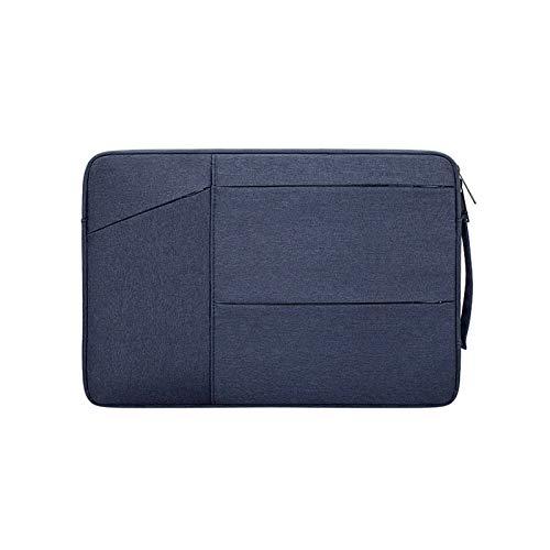 YNLRY Funda para Huawei MateBook D14 D15 13 14X Case-Laptoptasche para MacBook Air Pro M1 13 15 16 (color: Dark Blue, tamaño: for Matebook 14)
