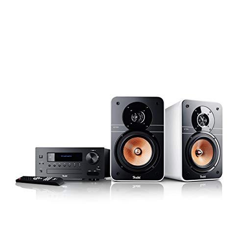 Teufel Ultima 20 Kombo (2019) Weiß Stereo Lautsprecher Musik Sound Hochtöner Mitteltöner Bass Speaker High-End HiFi Soundanlage