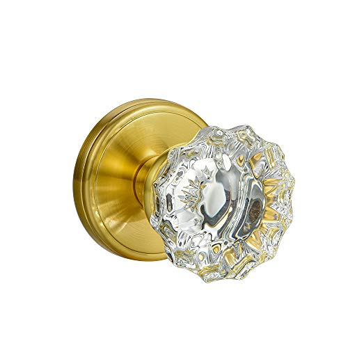 glass and brass knobs - 2