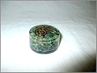 Jet Green Mica Orgone Tower Buster Piezo Electric EMF Protection Generator Frequency Ions Tested Cloud Chem Buster