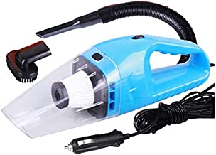 12v Handheld High Power Car Vacuum Cleaner, Carpet Cleaner for Car 120W 4000pa with Cigarette Plug Cleaning Pet Hair, Soot, Bread Crumbs and etc - Blue