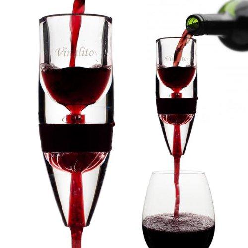 Vinalito l'aérateur de vin, cadeau vin design