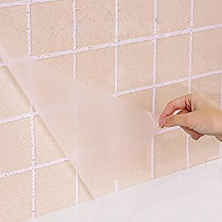 Clear Glossy Self Adhesive Film Covering Removable Film Contact Paper Shelf Drawer Linerl Transfer Tape Roll 17.7