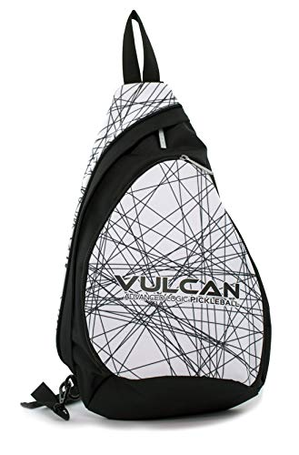 Vulcan Pickleball Sling Bag (Black Lazer)