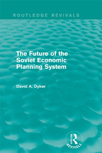 The Future of the Soviet Economic Planning System (Routledge Revivals) (English Edition)