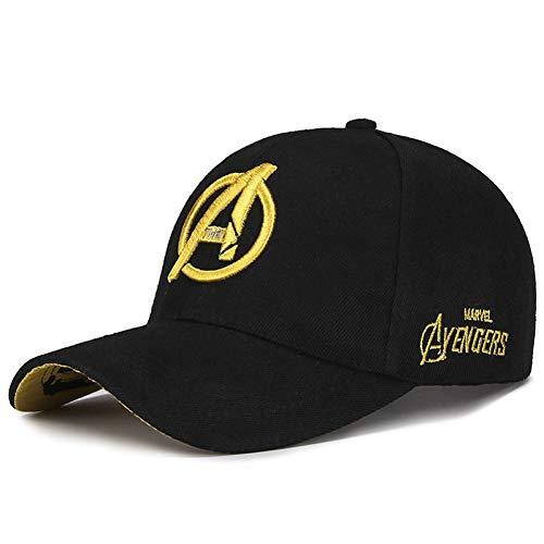 DGFB Baseballmütze Mode Hip Hop Baseball Cap Casual Stickerei Avengers Sun Dad Hut Für Männer Frauen Streetwear Outdoor Bboy Muts