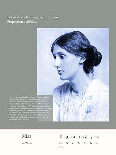 Der literarische Kalender fÜr Frauen