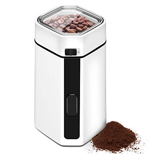 Coffee Bean & Spice Grinder - Large Grinding Capacity
