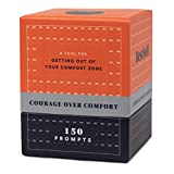 Courage Over Comfort Deck by BestSelf — Powerful Transformation Tool That Inspires and Empowers for Personal Growth, Thinking Bigger, Conquering Fear, Achieving Goals and Doing More — 150 Challenges