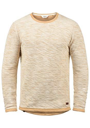 !Solid Flocks Herren Sweatshirt Pullover Flocksweat Pulli Mit Rundhalsausschnitt Aus 100{43ef51502f0e8ce90c1d8563d73915cba7f0ff1fd66286cd9afbaf29b8fa5ec2} Baumwolle, Größe:L, Farbe:Ermine (5944)
