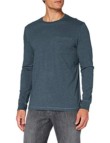 ESPRIT Herren 090EE2K312 T-Shirt, 424/GREY Blue 5, Large